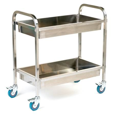 Picture for category Deep Shelved Stainless Steel Trolley