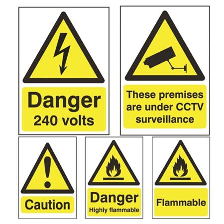 Picture for category Hazard Signs