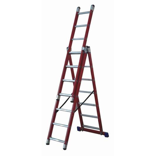 Picture of Glass Fibre 3 Way Combination Ladder