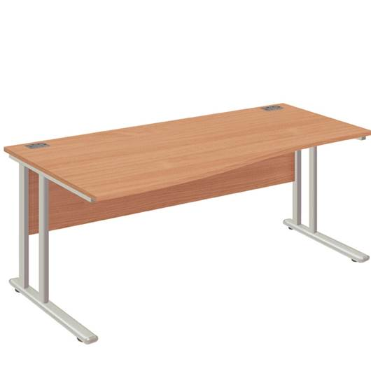 Picture of Fraction2 Desk - Wave Workstation