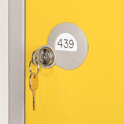 Picture of Vinyl Numbering for Standard Lockers