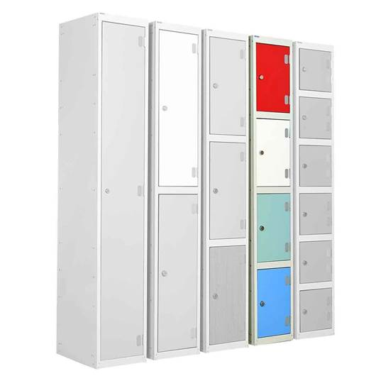 Picture of Four Tier Laminate Door Lockers