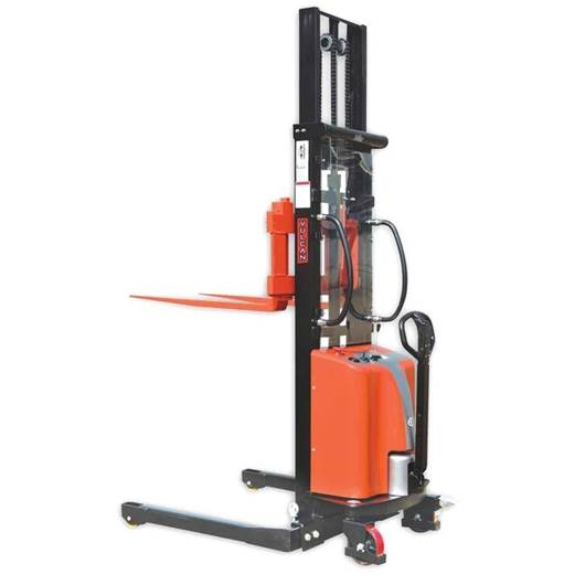 Picture of VULCAN Semi Electric Straddle Stacker with Adjustable Forks