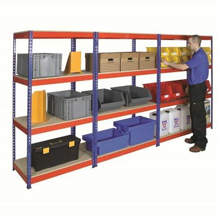 Picture for category Rivet Shelving